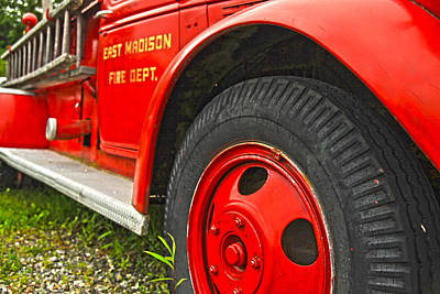 Photograph - East Madison Fire Dept by Karol Livote