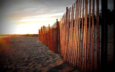 Photograph - East Matunuck Sunset by Annie Babineau