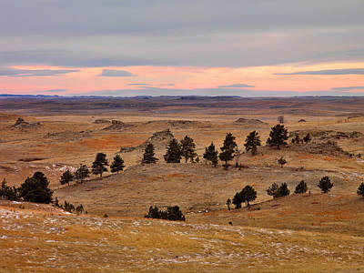Photograph - East Montana Country by Leland D Howard