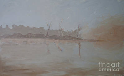 Painting - East Of Manteo by Paulette B Wright