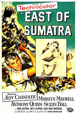 East Of Sumatra, Us Poster, From Left Art Print