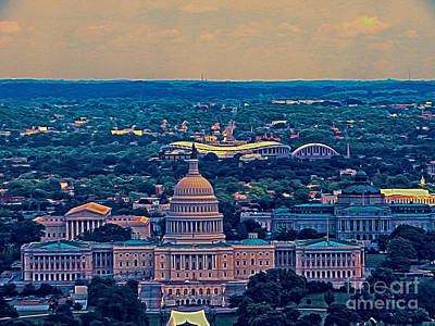 Photograph - East Of The Capitol  by Dawn Gari