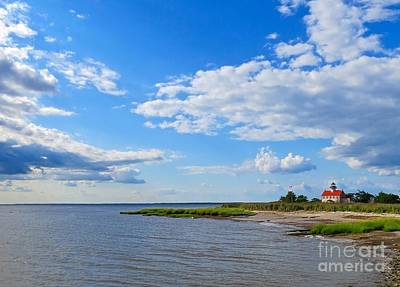 Photograph - East Point by Nancy Patterson