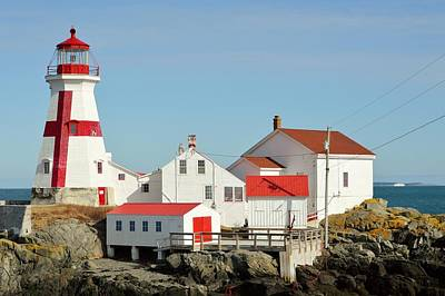 East Quoddy Lighthouse Campebello Island Can Original