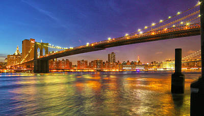 Photograph - East River by Mitch Cat