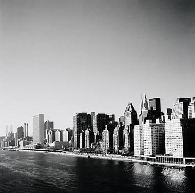 East River New York Art Print
