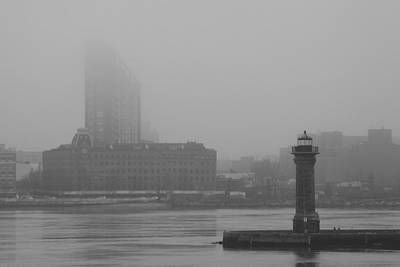 Art Print featuring the photograph East River Nyc by Steven Macanka