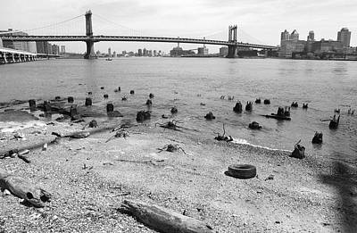 Photograph - East River Remains by Cornelis Verwaal