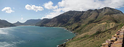 East Side Of Hout Bay Seen Art Print by Panoramic Images