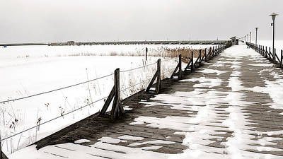 Photograph - East Tawas Dock by Scott Hovind