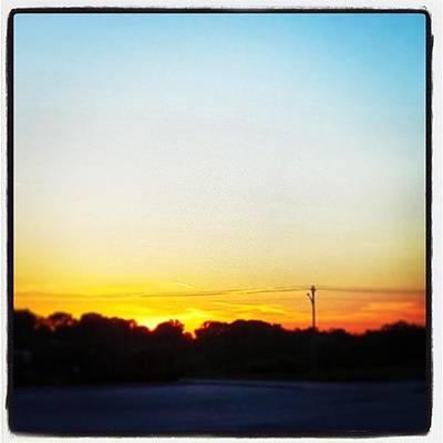Vineyard Wall Art - Photograph - East Tennessee Sunset 5-13-13 by Lauren Vineyard