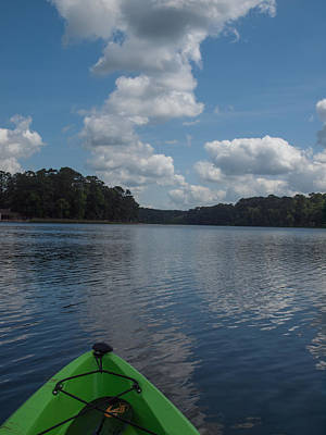 Photograph - East Texas Kayaking by Joshua House