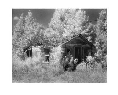 East Texas Cabin Art Print by Greg Kopriva
