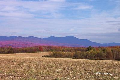 Photograph - East To Jay Peak by R B Harper