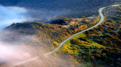 Photograph - East Topanga Fire Road by Catherine Natalia  Roche