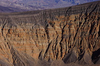 Photograph - East Wall Ubehebe Crater by Michael Courtney