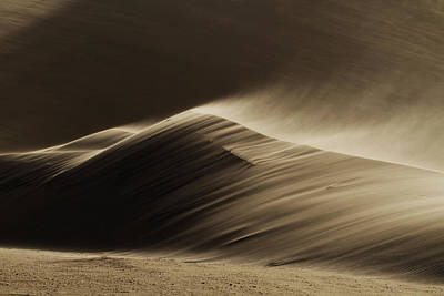 Dunes Wall Art - Photograph - East Wind In The Namib Desert by Xenia Ivanoff-erb