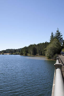Photograph - East Woahink Lake - 0013 by S and S Photo