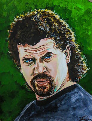 Kenny Powers Wall Art - Painting - Eastbound And Down by Joel Tesch