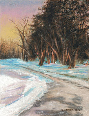 Painting - Eastbourne Park Oshawa No. 3 by Norb Lisinski