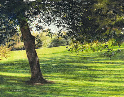 Painting - Eastbourne Park Oshawa No. 4 by Norb Lisinski