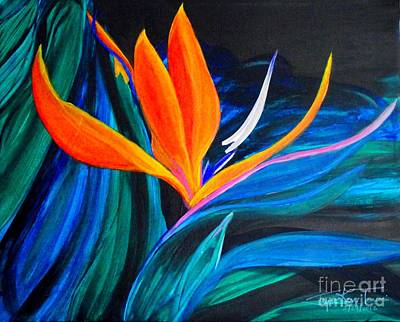 Painting - Eastcoast Bird Of Paradise by Jayne Kerr