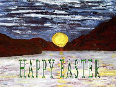 Sun Rising Painting - Easter 73 by Patrick J Murphy