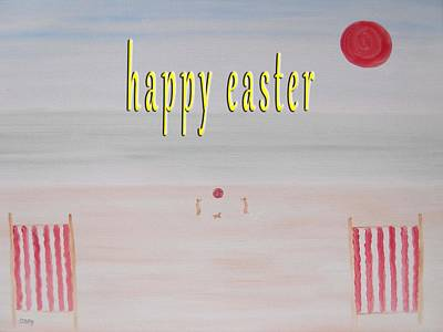 T- Ball Painting - Easter 83 by Patrick J Murphy