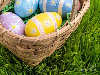 Easter Basket Art Print by Edward Fielding