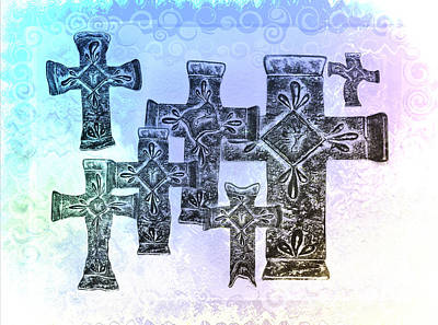 Jesus Christ Digital Art - Easter by Bill Cannon