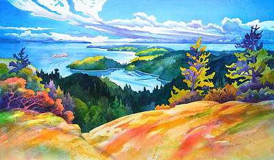 Easter Bluff View Original by Dianne Bersea