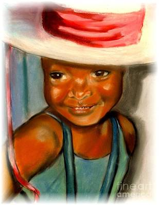 Painting - Easter Bonnet by Jose Breaux