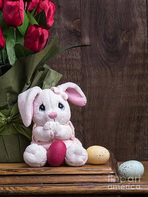 Lego Art - Easter Bunny Card by Edward Fielding