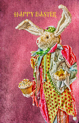 Photograph - Easter Bunny by Kathy Bassett