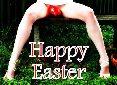 Photograph - Easter Card 3 by Guy Pettingell