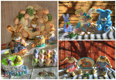 Photograph - Easter Collage 2 by Donna Kennedy