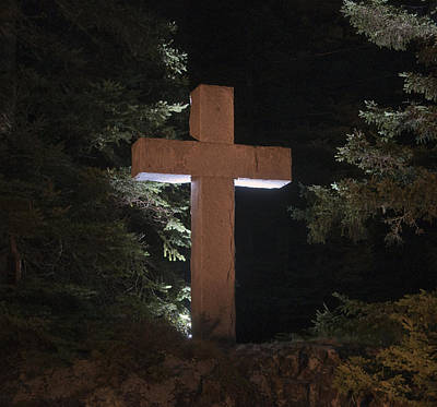 Photograph - Easter Cross by Glenn Gordon