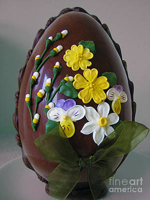 Photograph - Easter Egg Delight by Nina Silver