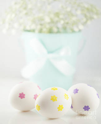 Easter Egg Photograph - Easter Eggs by Juli Scalzi