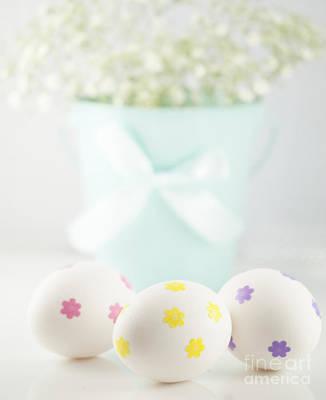 Easter Eggs Art Print by Juli Scalzi
