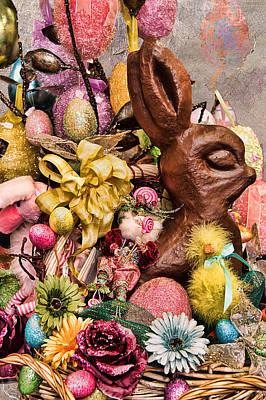 Photograph - Easter Basket by Kathy Bassett