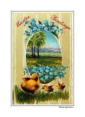 Photograph - Easter Greetings by Audreen Gieger