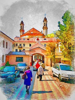 Old Town Digital Art - Easter In Vilnius 2 by Yury Malkov