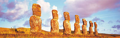 Easter Island Chile Art Print by Panoramic Images