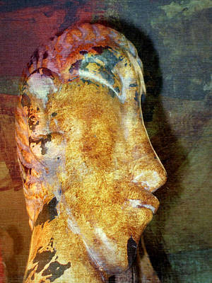 Photograph - Easter Island Man by Irma BACKELANT GALLERIES