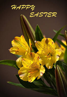 Easter Lilies Art Print by Sandi OReilly