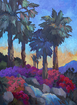 Desert Flower Painting - Easter Morning by Diane McClary