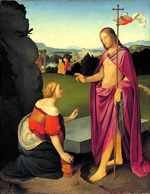 Religious Artist Painting - Easter Morning by Friedrich Overbeck
