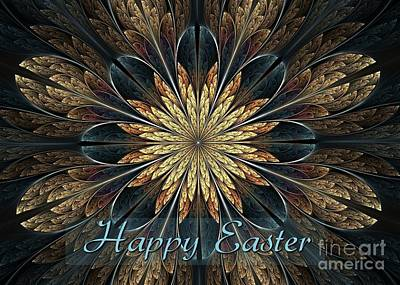 Digital Art - Easter Natural Beauty by JH Designs
