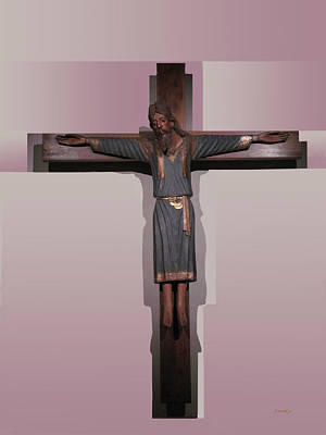 Photograph - Easter Pasqua Croce Di Gesu Cross Of Jesus by Suzanne Giuriati-Cerny